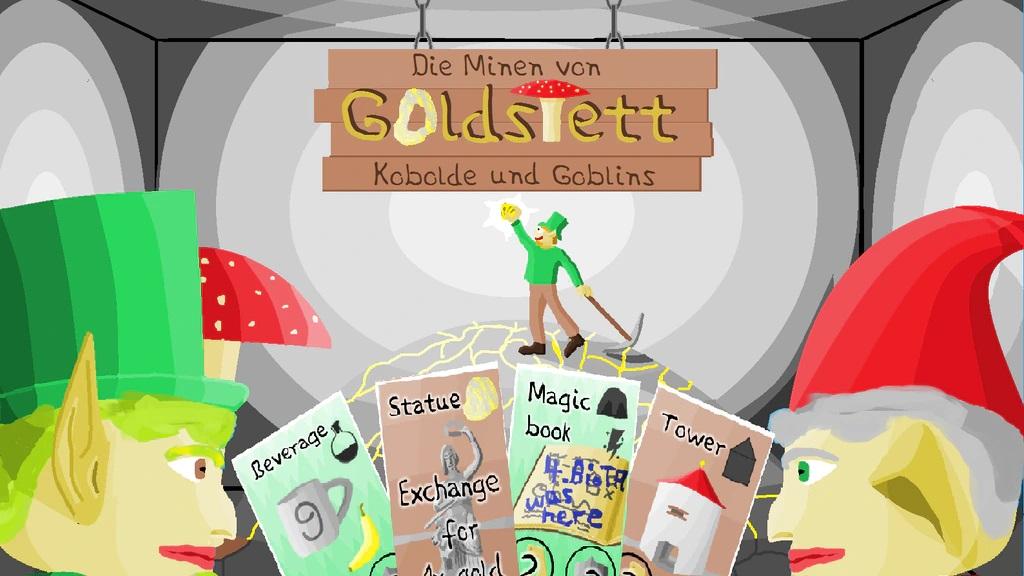 Brettspiel: Minen von Goldstett / Mines of Goldstett